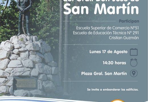 Acto en conmemoración al fallecimiento del General Don Jose de San Martín.