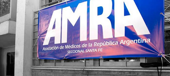 Los médicos nucleados en AMRA van al paro el lunes 10 de agosto