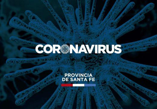 El Ministerio de Salud comunica nueve decesos con COVID-19 en la provincia.