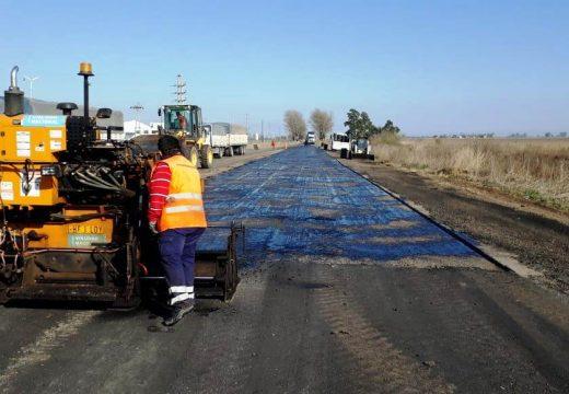 Vialidad Nacional completa trabajos en la Ex Ruta 9.
