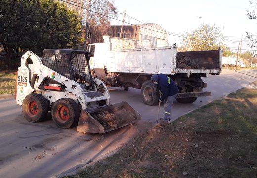 Cañada de Gómez. Municipio continua tareas de higiene urbana.
