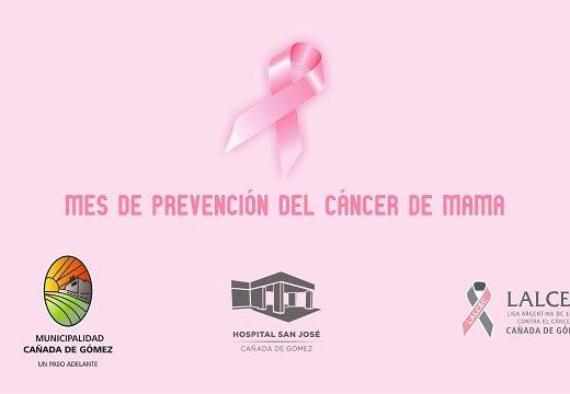Cañada de Gómez. Municipio, Hospital y Lalcec suman acciones de lucha contra cáncer de mama.