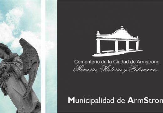 Armstrong. Nuevos horarios cementerio local.