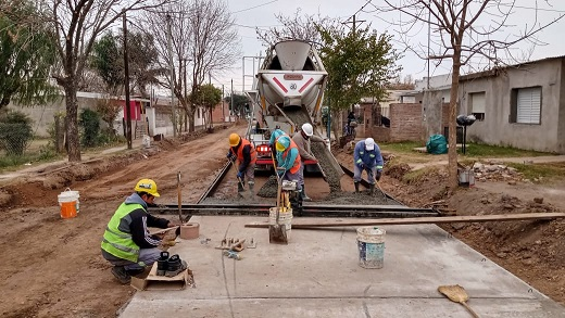 Cañada de Gómez. Municipio licitó 11 nuevas cuadras de pavimento.