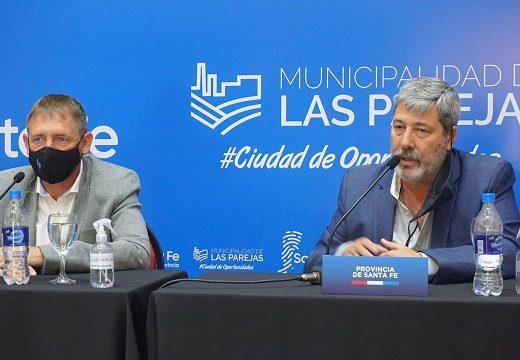 Se abrieron los sobres para la licitación de obras en el área industrial de Las Parejas.