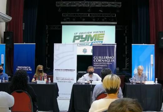 Las Parejas. Se presentó la 17º edición de la Fiesta Pyme Agroindustrial.