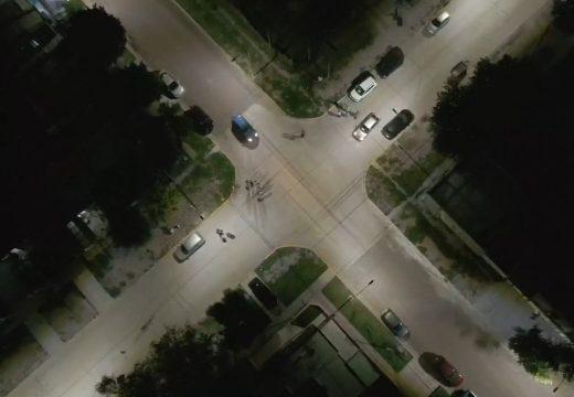 Más iluminación led en el barrio sur de nuestra ciudad.
