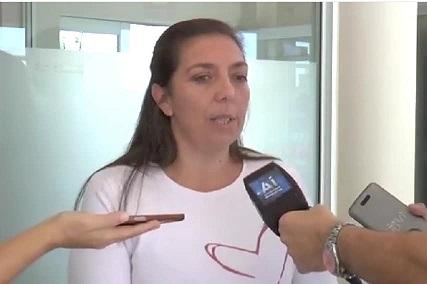 """Daniela Pérez: """"Se restablecen horarios de colectivos""""."""