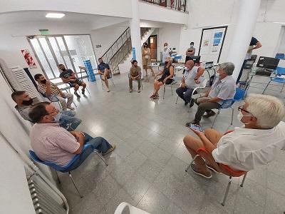 Cañada de Gómez. Reunión del municipio con volqueteros para intensificar  medidas de prevención y control.