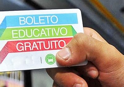 El Boleto Educativo Gratuito avanza en la provincia con más de 170 mil inscriptos en la actualidad.