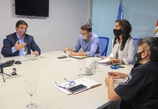 El gobierno de la provincia llevó adelante una Mesa de Seguridad con el municipio de Las Rosas.