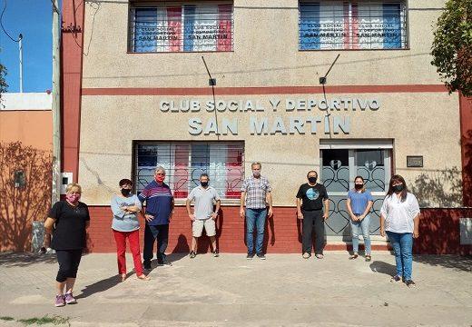 Cañada de Gómez. Aporte Económico del municipio al Club San Martín.