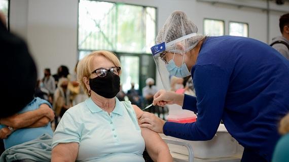 La provincia recibió un nuevo lote de vacunas contra el Covid-19.