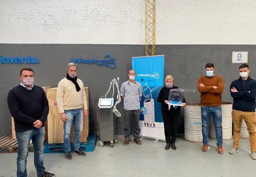 Cañada de Gómez. La Gestión Municipal entregó cuatro respiradores para el Hospital San José.