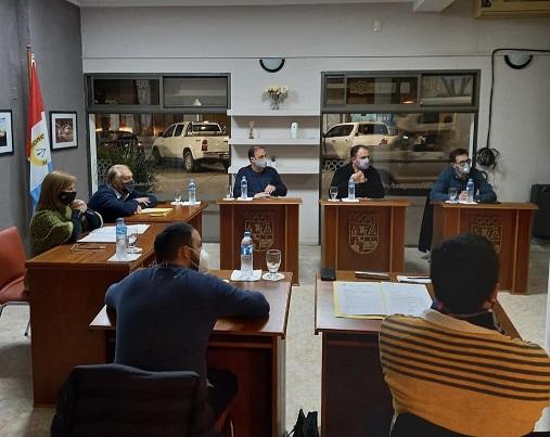 Los concejales Marconi, Fischer, Gramigna y Pertusati hicieron un balance de las PASO.